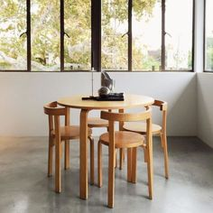 small dining table + chairs