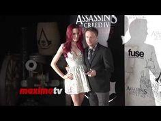 Chris Hardwick & Chloe Dykstra Assassin's Creed IV Black Flag Launch Par...