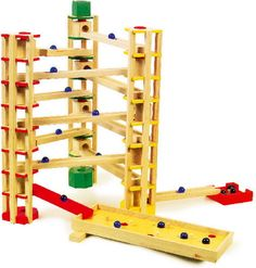 Marble Run 80 Pieces New Wooden Toy Wood Children Playing Part 1503 New Marble Toys, Kool Aid, Pista, Sandbox, Wood Toys, Jenga, Decoration, Kids Toys, Children's Toys