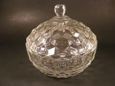 Love the Fostoria American pattern.  Would look pretty in my china cabinet