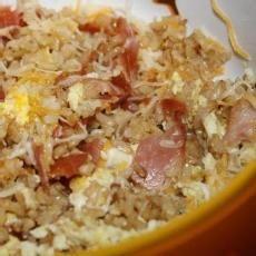 Breakfast Fried Rice Recipe.  This is sooo good!