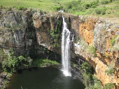 Mac Mac Falls close to God's Window - Mpumalanga.