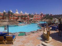een van de zwembaden