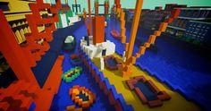 Museu usa Minecraft para divulgar obras de arte | Office Cyber – Soluções em Mídias Digitais.