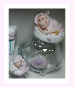 Bebe en porcelana fria