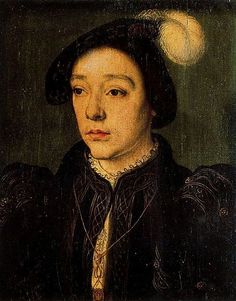 Charles II de Valois, Duke of Orléans. Son of Francis I and Claude of France. Died at age 23 of the plague.