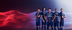 Nike's campain for the new Paris Saint-Germain jersey 16/17