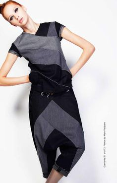 Environmental fasion designer Reet Aus' doctoral thesis on using upcycling in fashion industry.