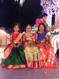 Hiya Reddy's Magnificent Half Saree Ceremony As Grand As A Wedding