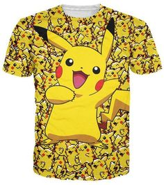 7cbe9b38 2018 Men 3d Funny Cartoon Printed Pokemon T-Shirt Anime 3d Print T Shirt  Characters Cartoon Tee Casual Men's Top Tee Shirts