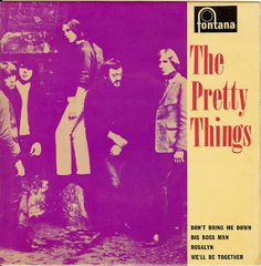 The Pretty Things - EP - Don't bring me down / Big boss man / Rosalyn / We'll be together - 1965