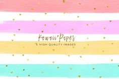 kawaii watercolor digital paper, digital paper weekly stickers, Watercolor Paint Clipart, Printable Planner Stickers Paper, paper pack By My Lovely Sister