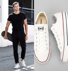 9 modelos de tênis branco masculino estilosos - MODA SEM CENSURA | BLOG DE MODA MASCULINA