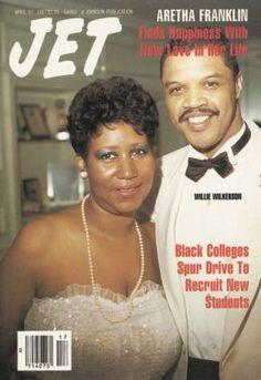 Aretha Franklin and second husband on cover of Jet magazine. Jet Magazine, Black Magazine, Media Magazine, Ebony Magazine Cover, Magazine Covers, Tennessee, Ted, Vintage Black Glamour, Vintage Style