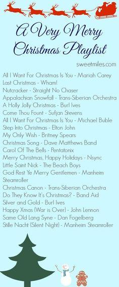 My 2014 Christmas Playlist + Spotify Link!
