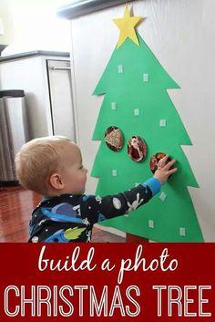 Sensory Christmas tree