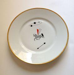 Pegasus - illustrated plate