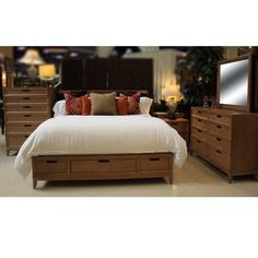 AMERICAN DREW SEDONA QUEEN BEDROOM SET - BED SET, BEDROOM SET, BEDROOM FURNITURE Gallery Furniture