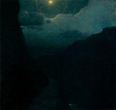 """"""" Edward Streichen, Moonlight Landscape, 1903 """""""