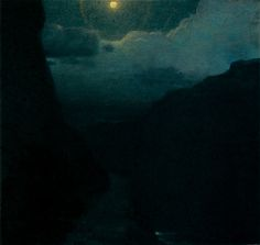Edward Steichen, Moonlit Landscape, 1903