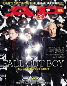 AP 323.2 // June 2015 // Fall Out Boy + AP's 30th Anniversary issue