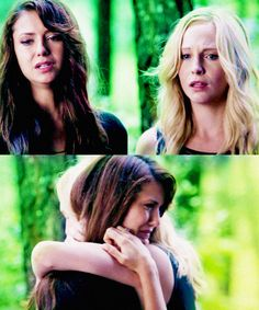 Caroline and Elena♥