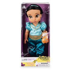 Designed by our Disney Animators, this gorgeous Princess Jasmine Animator Doll depicts the princess as a little girl. She features a beautiful satin outfit and is kept company by a mini soft toy Rajah. Princess Jasmine, Princess Disney, Disney Animator Doll, Disney Dolls, Punk Disney Princesses, Girl Hair Colors, Walt Disney Animation Studios, Disney Sketches, Disney Inspired