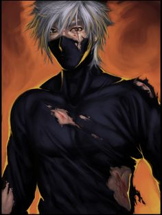 Battlescarred Kakashi by Artipelago.deviantart.com on @deviantART