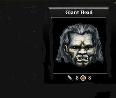 [Realm 13 Asgard] Adventure drop Weapon (Giant Head 8A - 8D)