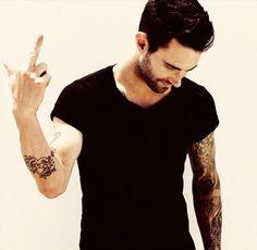Adam Levine Tattoos | adam levine, hot, tattoos, attitude - inspiring picture on Favim.com
