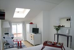 Double Room with Balcony: Lucy in the Sky  | 4th Floor | Double Bed