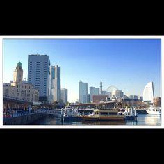 Seaside - Yokohama (Near Yamashita Park!) シーサイド - 横浜 (山下公園の近く)  #シーサイド #横浜 #山下公園近く #イイ天気 #青イ空 #seaside #yokohama #yamashitapark #niceweather #bluesky (by shinpondering)