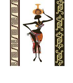 African Wall Decor african wall decor, african woman, african artwork, african