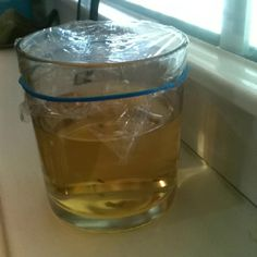 Best way to catch fruit flies!  Put a big squirt of dish soap in a cup. Add some water to make it suds a bit, then add vinegar (use apple cider vinegar) Put plastic wrap over the top and secure with a rubber band. Make some small holes in the plastic (use a prong of a fork). Set in a location near where your fruit flies are and leave it as undisturbed as possible.