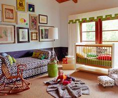125 großartige Ideen zur Kinderzimmergestaltung - frische einrichtungsideen im kinderzimmer bett babywiege