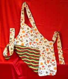A personal favorite from my Etsy shop https://www.etsy.com/listing/202822465/reduced-winter-and-fall-apron-for-any