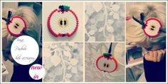 hair accessories // To order :  https://www.facebook.com/pages/%C5%A0arene-perle-i-sre%C4%87a/277610758921057