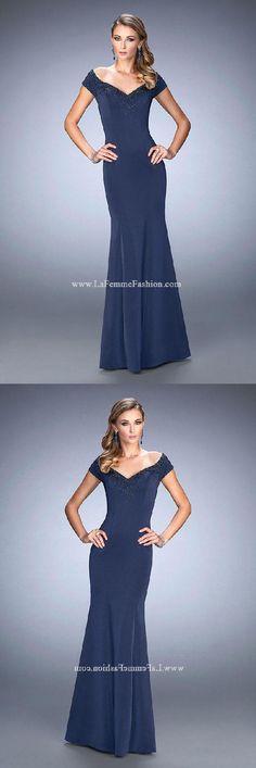 c37b3efb7228 Discount Sale Sexy La Femme Evening 22716 Dresses Evening Dress Sexy   Evening  Dress