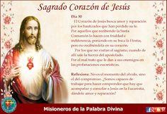 MISIONEROS DE LA PALABRA DIVINA: MES DEL SAGRADO CORAZÓN DE JESÚS