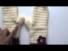 Crochet Mittens & Scarves