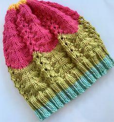 Yarn Cakes Shetland Lace Slouchie Knitting pattern by Lullaby Lodge – Knitting patterns, knitting designs, knitting for beginners. Stocking Stitch Knitting, Beanie Knitting Patterns Free, Lace Knitting, Knitting Stitches, Knitting Designs, Knit Patterns, Knitting Projects, Knit Crochet, Knit Lace