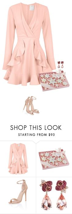 """happy holidays"" by mimas-style ❤ liked on Polyvore featuring C/MEO COLLECTIVE, Chi Chi and Anyallerie"