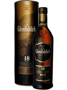 Glenfiddich18 year old is a wonderful Speyside single malt matured in bourbon and sherry casks.  Simply delicious.