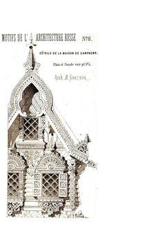 MOTIFS DE L'ARCHITECTURE RUSSE