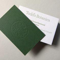 T Y P O R E T U M :: Creative letterpress printing & design :: Custom letterpress business cards & business stationery