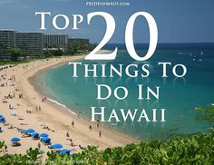 Top 20 Things to do in Hawaii. Hawaii Vacation, Vacation Places, Hawaii Travel, Vacation Destinations, Vacation Trips, Dream Vacations, Vacation Spots, Travel Usa, Places To Travel