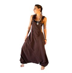 Hey, j'ai trouvé ce super article sur Etsy, chez https://www.etsy.com/fr/listing/196627879/brown-aladdin-harem-jumpsuit-overalls