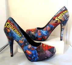 Superman Heels