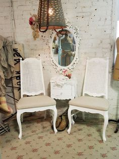 RESERVE SANDY Painted Cottage Chic Shabby White by paintedcottages, $110.00