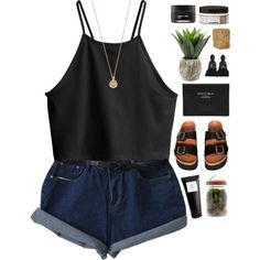 Untitled #391 by amy-lopez-cxxi on Polyvore featuring polyvore fashion style H&M Sixtyseven Acne Studios Bing Bang Eight & Bob Archipelago Botanicals Koh Gen Do Twig Terrariums Jayson Home